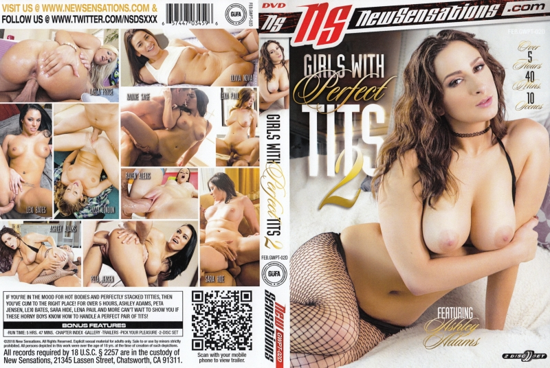 裏DVD NEW SENSATIONS GIRLS WITH PERFECT TITS 2 DISC-2