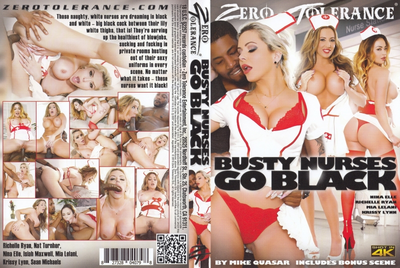裏DVD ZERO TOLERANCE BUSTY NURSES GO BLACK